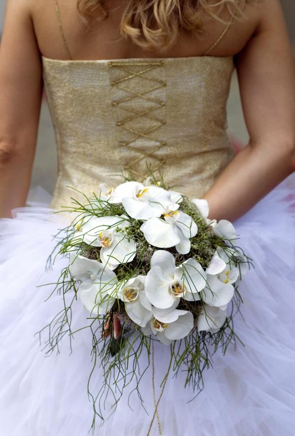 poročni šopek Mdetajl